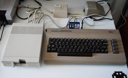 Trasferire un'immagine disco D64 su un floppy disk